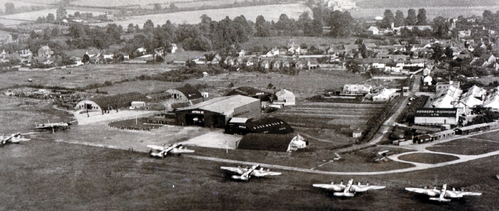 Haddenham Airfield and Airtech 1947